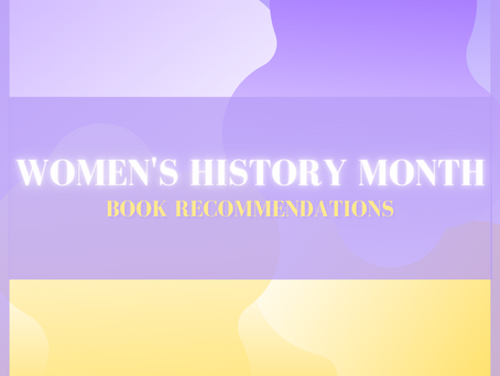 Women's History Month Book Recommendations