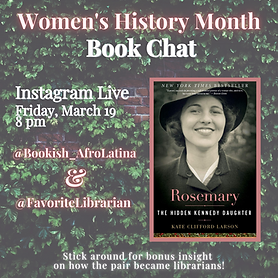 Women's History Month Book Chat