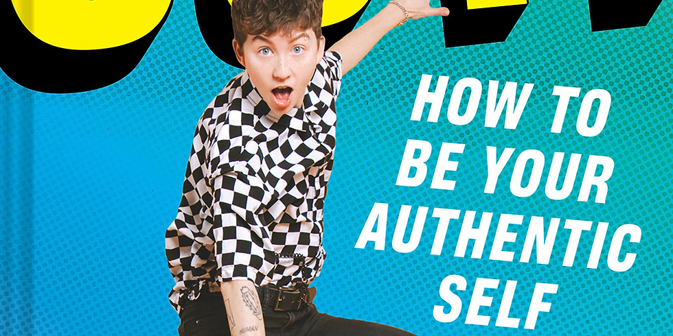 Out! with Miles McKenna. A Zoom Event for Teens!