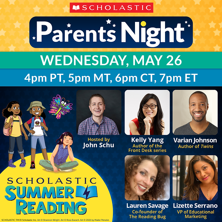 Scholastic Parents Night: The Power of Summer Reading