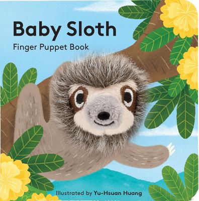 Baby Sloth Finger Puppet
