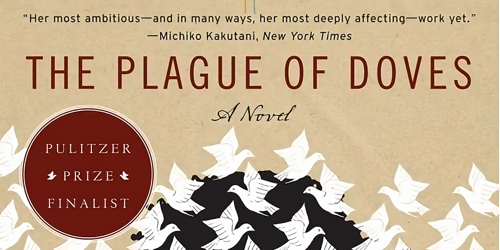 """""""The Plague of Doves"""" Mysteries to Die For Book Club"""