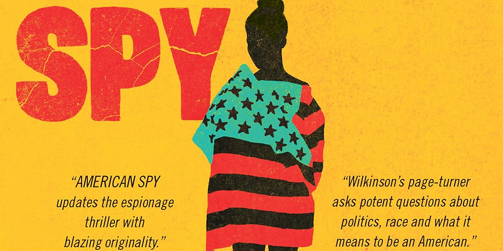 """""""American Spy"""" Mysteries to Die For Book Club"""