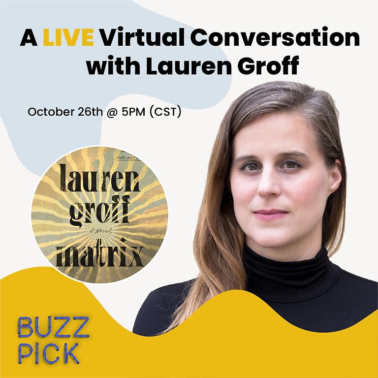 A Conversation with Lauren Groff