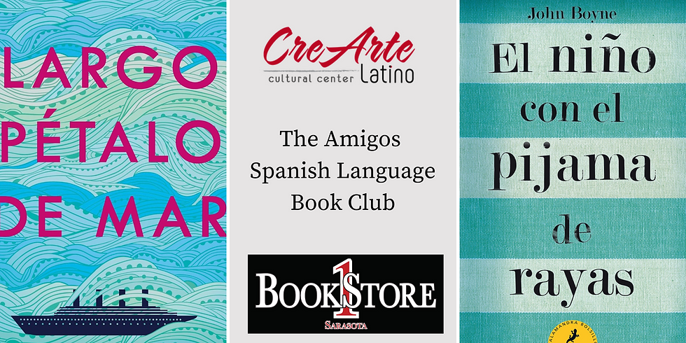 February and March Amigos Book Club for Adults & Teens
