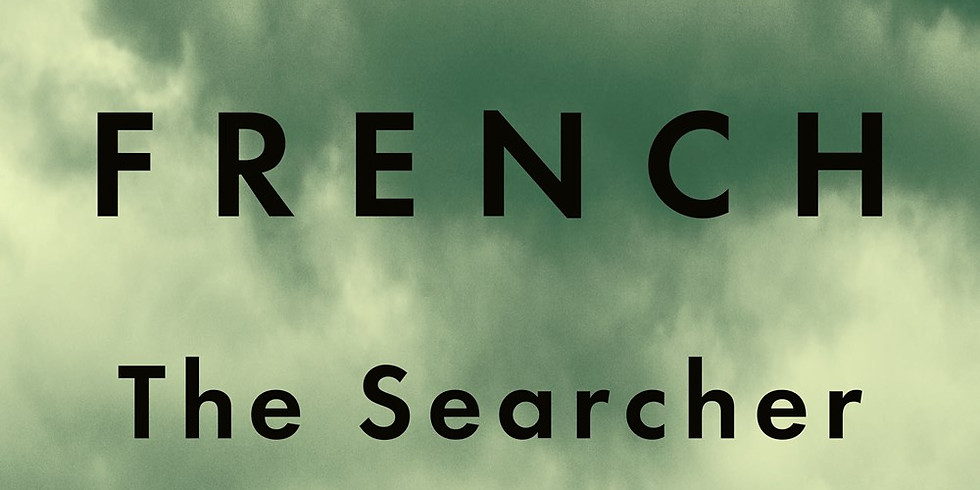 """""""The Searcher"""" Zoom Mysteries to Die For Book Club"""