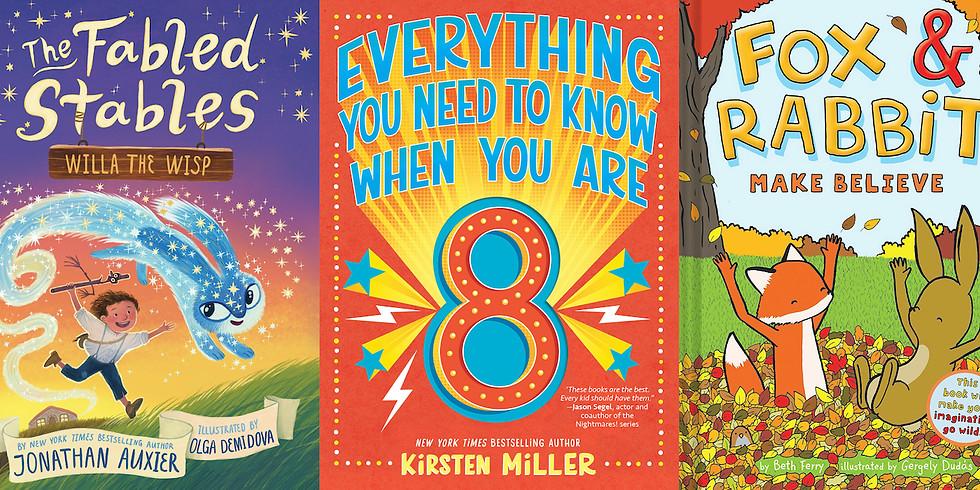 Reader Meet Writer for Kids • Jonathan Auxier, Kristen Miller, & Beth Ferry