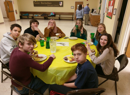 Youth Group Lock-In Produces Lots of Chili