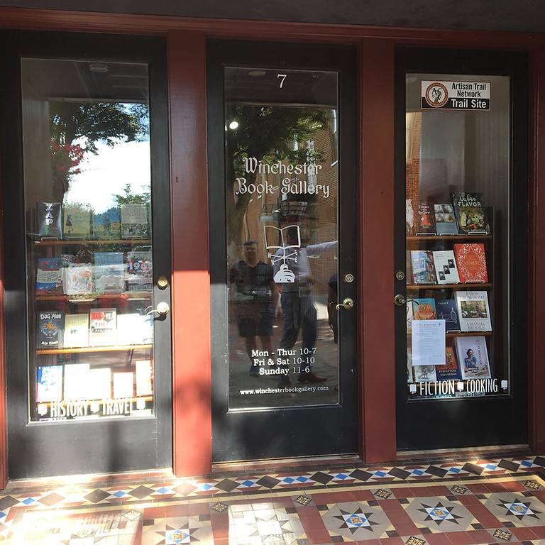 Book Signing - Winchester Book Gallery