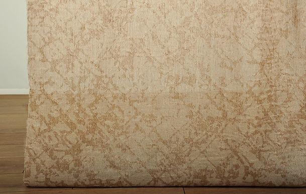 17551 JACQUARD LINEN SHEER CR