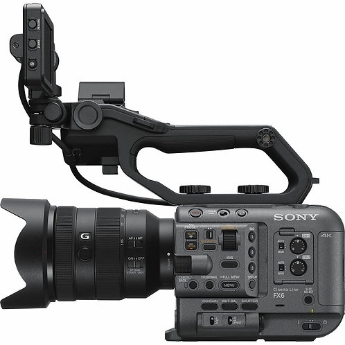Sony FX6 Digital Cinema Camera Kit with 24-105mm Lens $380+GST/day incl. ins