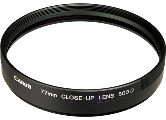 Canon 77mm 500D Close-up Lens - $30/day+GST