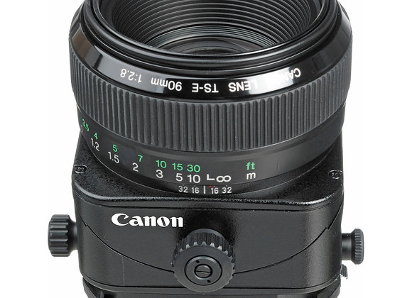 CANON TS-E 90MM F2.8 TILT SHIFT LENS - $70/day+GST Incl. Insurance