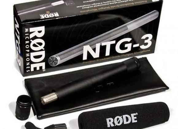 Rode NTG-3 Shotgun Mic - $45/day+GST