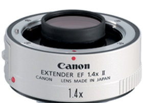 Canon Extender EF 1.4x II - $20/day+GST