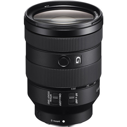 Sony FE 24-105mm f/4 G OSS Lens $70/day incl. insurance