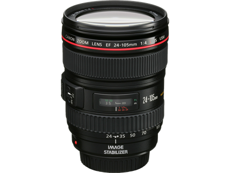 Canon 24-105 F4L IS Zoom Lens