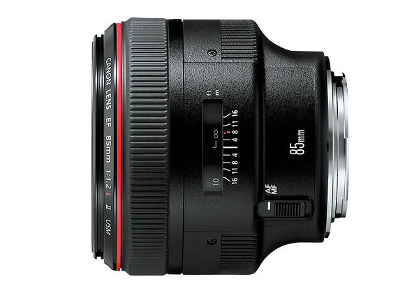 EF 85mm f/1.2L II USM - $70/day+GST Incl. Insurance