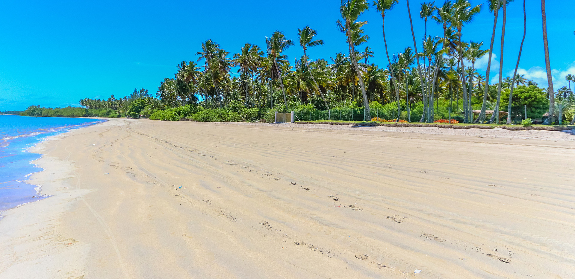 Vista da Propriedade para a praia