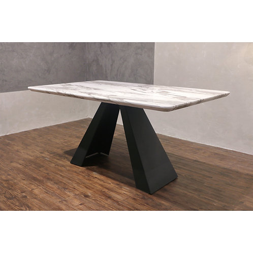 NASHAT 1.5m Marble Dining Table