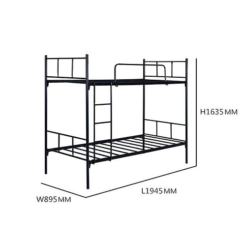 AFRON Double Decker 3ft Metal Bed (Ready Stock)