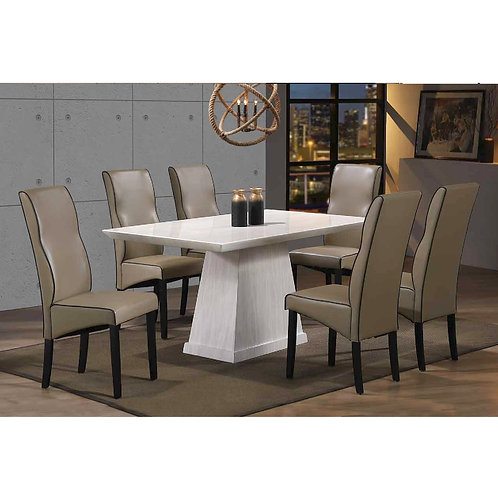 MONTELL 5ft 1+6 Dining Set
