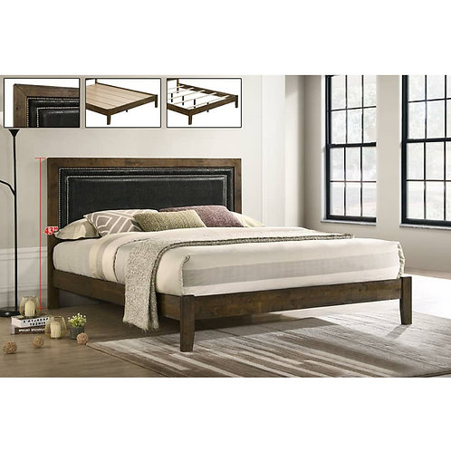 RETHMER 5ft Wooden Bed