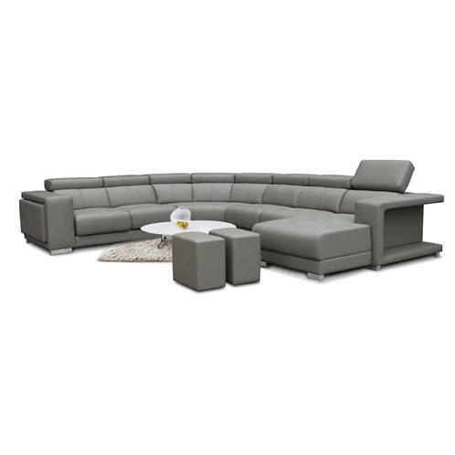 GREENVILLE Corner H/Leather Sofa