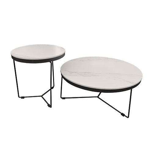 VIKENZO Ceramic Coffee Table Set