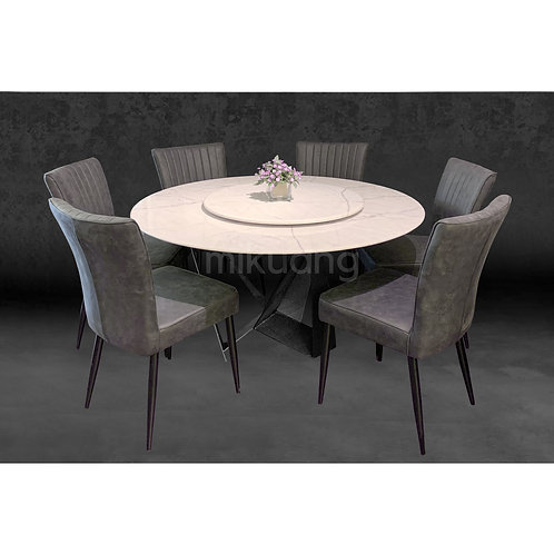 WESTON Marble Dining Set