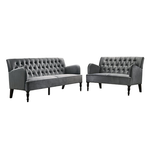 AURORA Chesterfield Sofa 2+3s