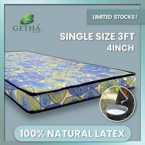 FORMULA 1 (by Getha) Single 4inch Rebonded Latex Mattress