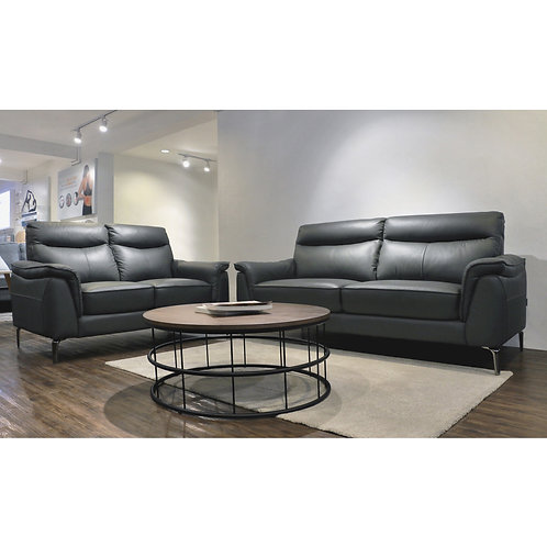 HAMILTON Sofa Set (Full Leather)
