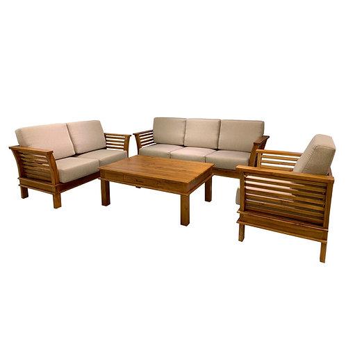CORONA Teak Wood Set