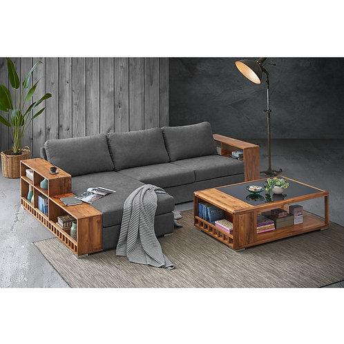 LANTINA L-Shape Teak Sofa
