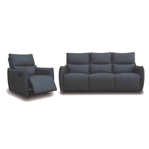 BENICIO Half Leather 1R+3S Sofa