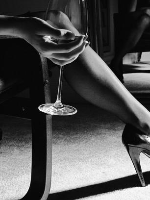 wine, heels & fantasy...or who am I?
