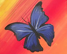 butterfly kids painting