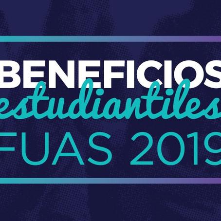 FUAS 2019: Beneficios estudiantiles