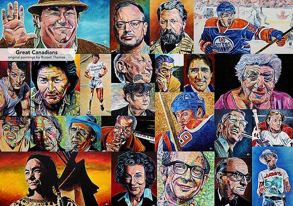 Great Canadians (1000 pcs)