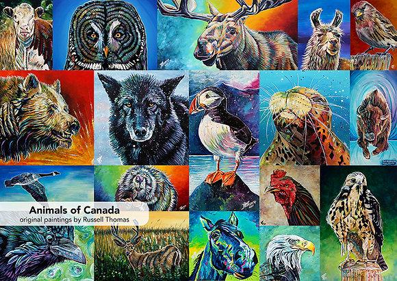 Animals of Canada (1000 pcs)