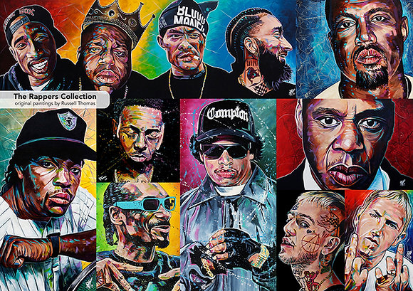The Rappers Collection (1000 pcs)