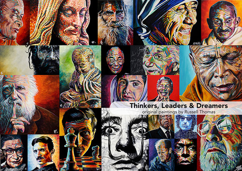 Thinkers, Leaders and Dreamers (1000 pcs)