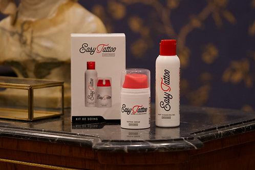 Kit de Soins savon ph neutre et crème cicatrisante Easytattoo®