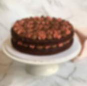 Naked Chocolate Vegan Cake
