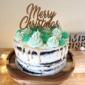 A Classic Christmas Cake