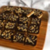 Raw Snickers Slice Vegan Gluten Free