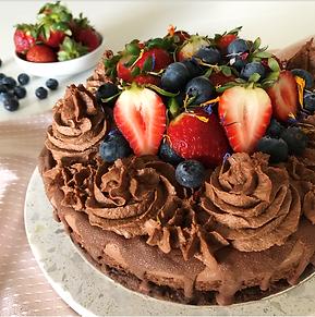 Raw Decadent Chocolate Mousse Cake