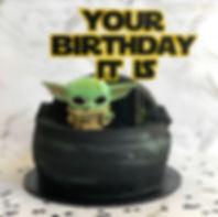 Vegan Custom Star Wars Cake
