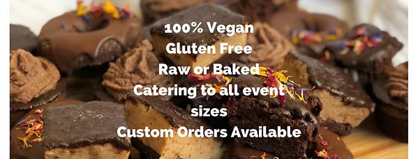 Vegan Gluten Free Dessert Menu
